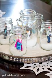 frozen centerpieces winter snow party inspired by disney s frozen