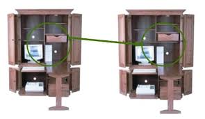 Amish Computer Armoire Computer Armoire With Fold Out Desk Amish 51 Computer Armoire