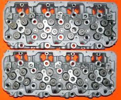pair chevy truck 6 6 duramax diesel lmm cylinder heads 2007 2010