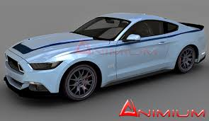 2015 mustang rtr ford mustang rtr free 3d models
