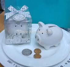 baptism piggy bank 30pcs lot christening baptism gifts ceramic mini piggy bank coin
