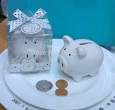 piggy bank party favors aliexpress buy 30pcs lot christening baptism gifts ceramic