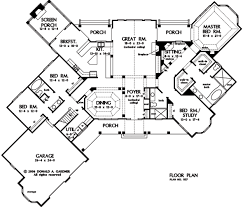 Donald A Gardner Floor Plans Home Plan The Richelieu By Donald A Gardner Architects
