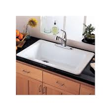 Faucetcom  In Bisque By American Standard - American standard americast kitchen sink