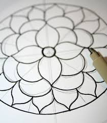 how to draw a mandala with free coloring pages mandala