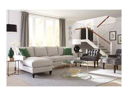 Rowe Sectional Sofas by Rowe My Style Ii Customizable Left Chaise Sofa With Track Arms