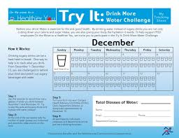 Challenge With Water Drink More Challenge Pasadena Independent School District