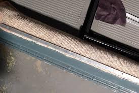 Exterior Door Sills Door Sill Protection Plates Installed 1966 Vw Beetle Project