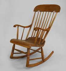 american country seating chair rocking chair stripped country