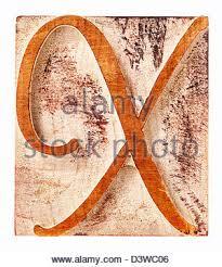 ornamental letter z script font isolated letterpress wood type