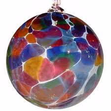blown glass ornaments random acts of