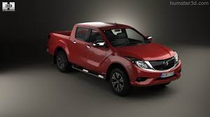 mazda bt 50 360 view of mazda bt 50 double cab 2016 3d model hum3d store