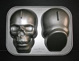 Halloween Cake Pans by Nordic Ware Haunted Skull Pan Halloween 3d Cake Pan Mold What U0027s