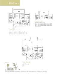 Lakefront Floor Plans 3 Bedroom The Lakefront Residences