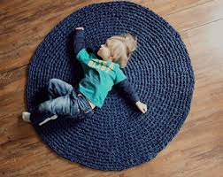 Round Blue Rugs Navy Blue Rugs Andover Mills Falmouth Navy Blue Area Rug Ando4326