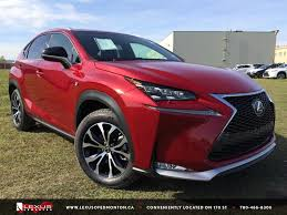 lexus dealership fort lauderdale new red 2015 lexus nx 200t awd f sport series 1 west edmonton