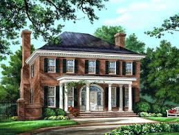 colonial style home 86225 b1200 jpg pixels house plans pinterest for colonial style
