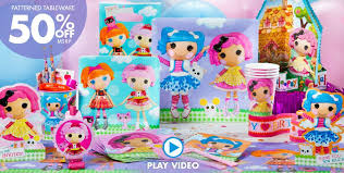 lalaloopsy party supplies birthday favors party city image inspiration of cake and
