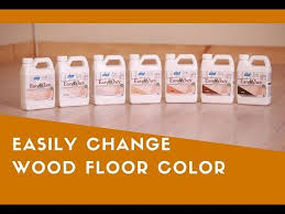 change hardwood floor color without sanding with easywhey
