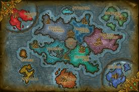 World Of Warcraft Map Reign Of Azshara Fan Expansion Concept