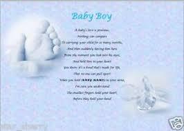 baby boy poems baby boy personalised poem laminated gift poem and verses