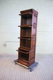 Narrow Bookshelves - bookcase quality oak bookcase tall narrow cabinet library