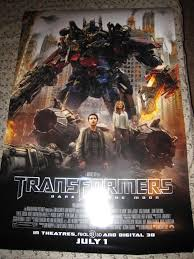transformers dark of the moon posters and banners transformers