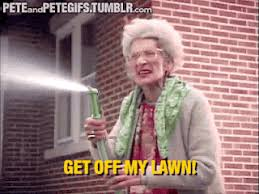 Get Off My Lawn Meme - get off my lawn gif gifs galore and memes pinterest lawn