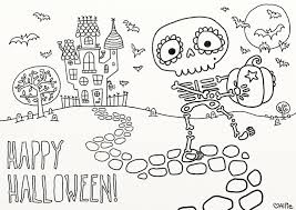 house colouring cute halloween coloring pages coloringsuite com