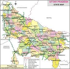 road map up road map up uttar pradesh map travel maps and major tourist