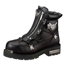 harley motorcycle boots harley davidson light wolverine brake men u0027s black 6 25 inch