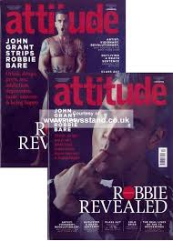 attitude magazine subscription buy at newsstand co uk