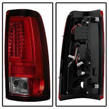 2004 chevy silverado led tail lights 03 06 chevy silverado gmc sierra v2 led tail lights red smoked