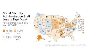 Social Security Research Paper Social Security Administration Budget Cuts Hurt Communities