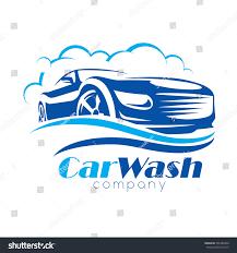 car wash stylized vector symbol design stock vector 701489968