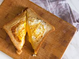 the grilled cheese eggsplosion grilled cheese with fried eggs
