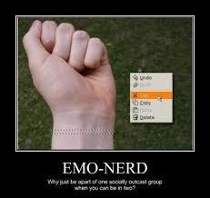 Nerd Meme Guy - emo nerd meme guy