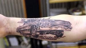 30 most amazing car tattoo designs