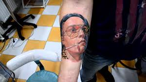 johnny depp tattoo by a d youtube