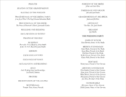 church wedding program template 10 program templatesagenda template sle agenda template sle
