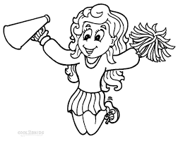 cello coloring page printable cheerleading coloring pages for kids cool2bkids