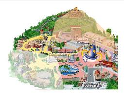 Printable Map Of Disney World by My Hollywood Studios Stress On The U0027my U0027 The Main Street Mouse