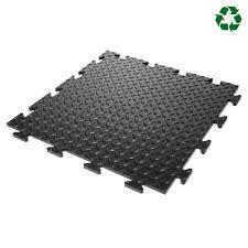 garage flooring pvc vinyl floor tiles checker plate 50cm