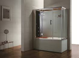 Steam Shower Bathroom Eagle Bath Ws110 Left Steam Shower And Whirlpool Combo Unit