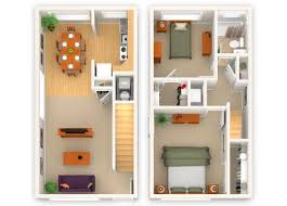 two bedroom townhouse floor plan floor plans the renaissance club