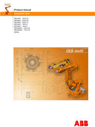 irb 6640 product manual 3hac026876 001 rev en library power
