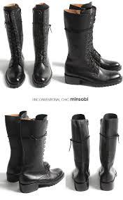 minsobi rakuten global market genuine leather leather boots
