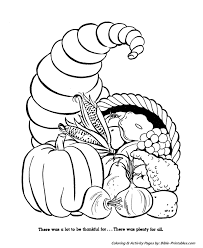 bible printables the thanksgiving coloring pages