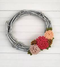 joyful handmade spring wreath ideas to decorate your front door