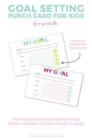 Smart Goals Worksheet For Kids Goal Setting Printables For Your Kids